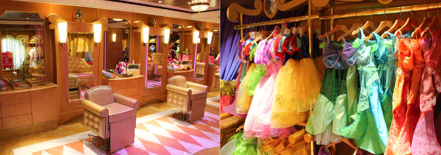 Bibbidi Bobbidi Boutique is a special upgraded experience to transform into a princess, prince, captain, or pirate!
