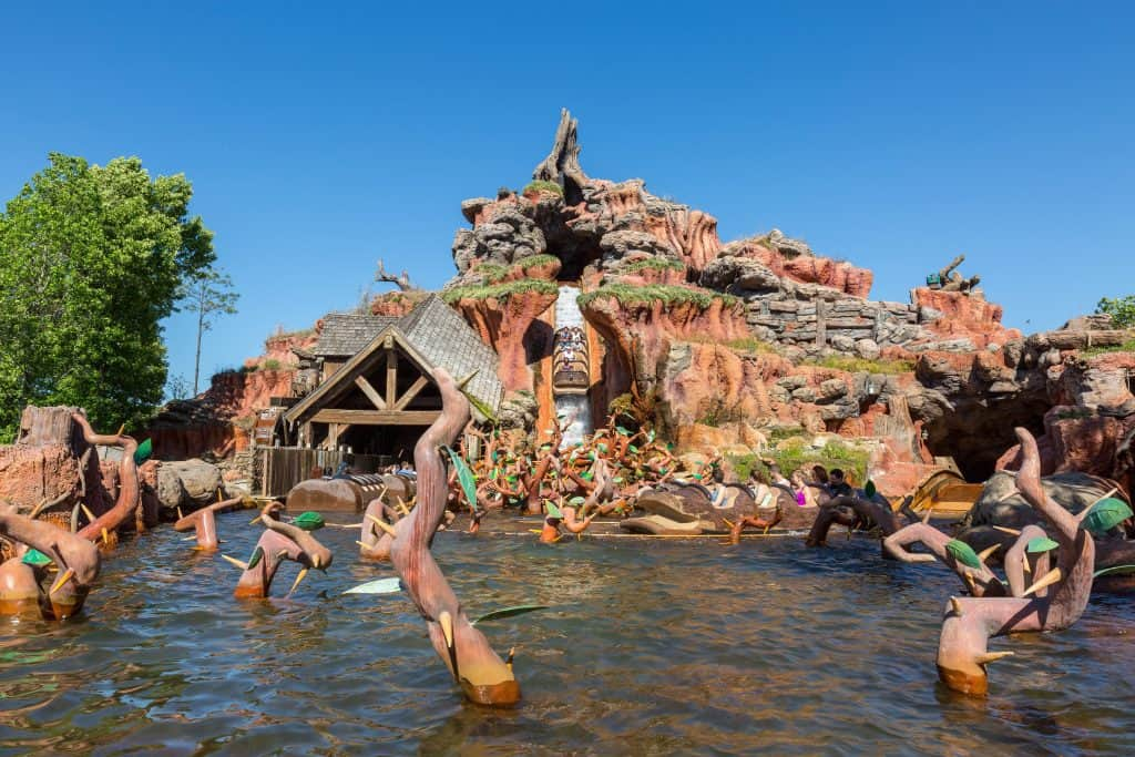 Disney bags on water rides are tricky to master, especially on Splash Mountain.