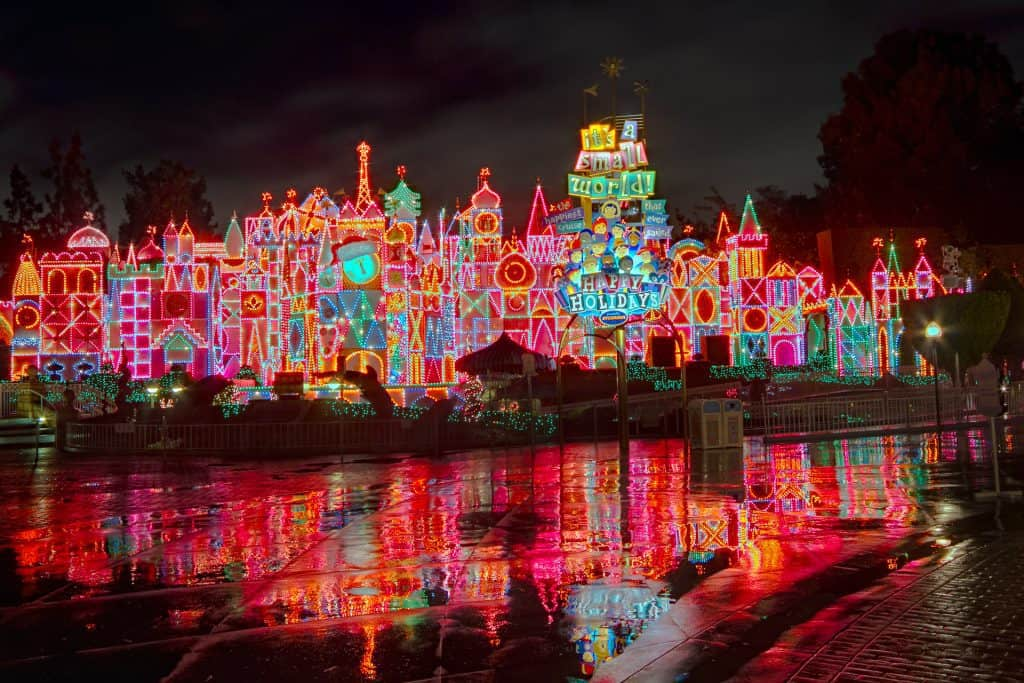 Small World Holiday Overlay