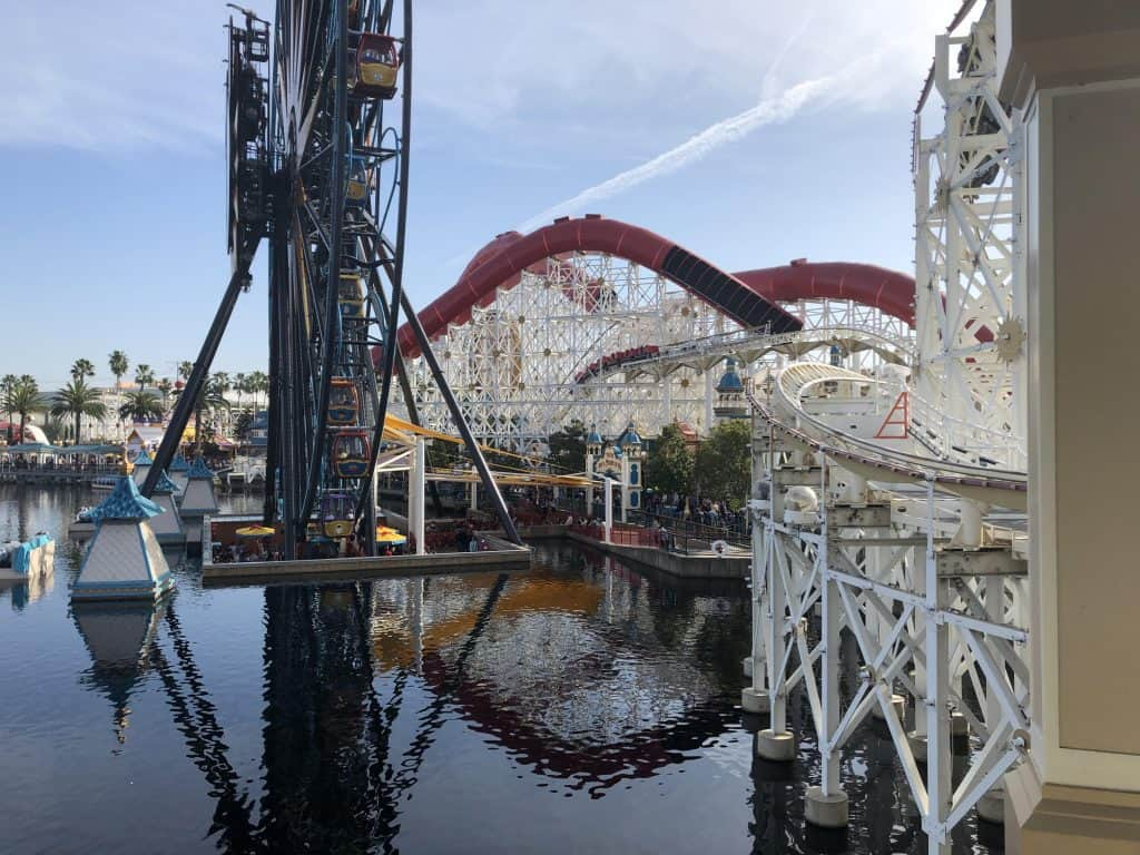 Pixar Pier at Disneyland, part of everything I did at Disneyland in 6 hours over the holidays