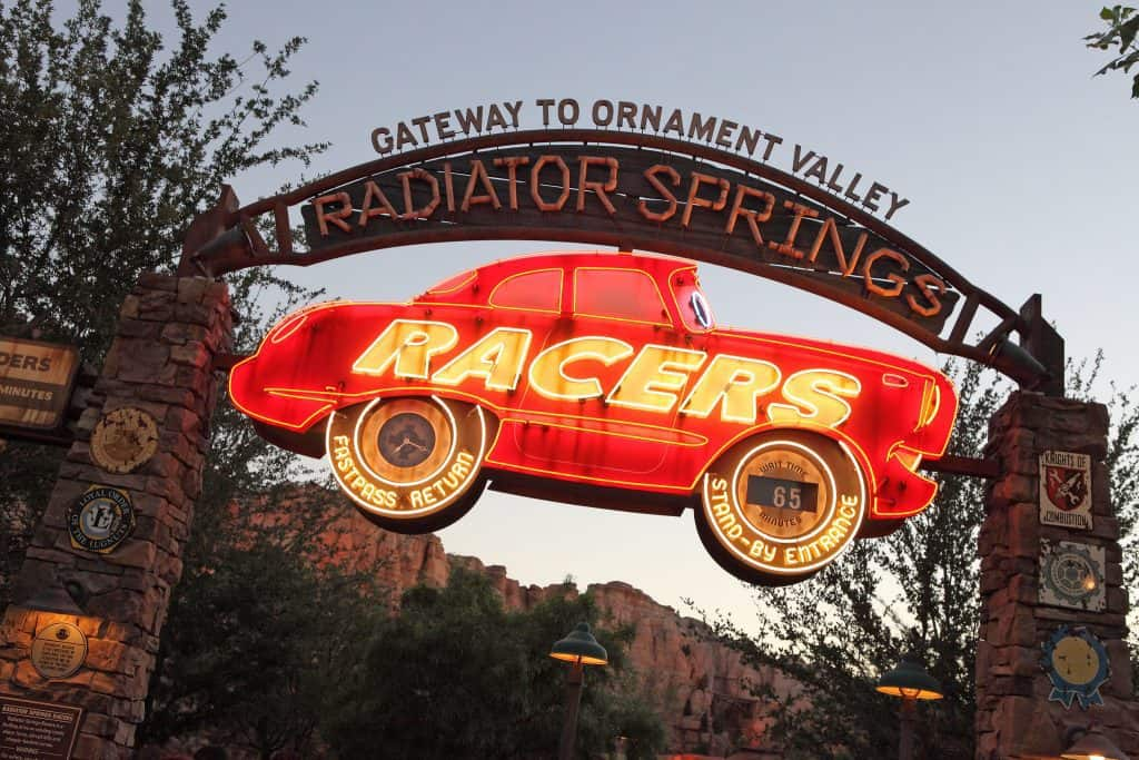 Radiator Springs Racers is a Disneyland MaxPass Ride.