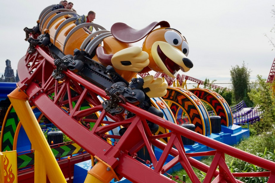 Slinky Dog Dash is a popular FastPass ride at Walt Disney World
